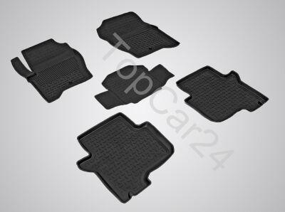 Резиновые коврики в салон Land Rover Discovery III/IV 2 ряда сидений