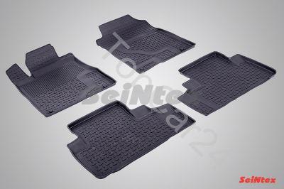 Резиновые коврики в салон Honda CR-V 4