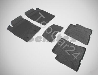 Резиновые коврики DongFeng H30 Cross в салон