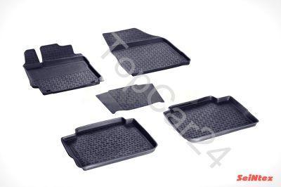 Резиновые коврики Seintex Toyota Camry 2018->
