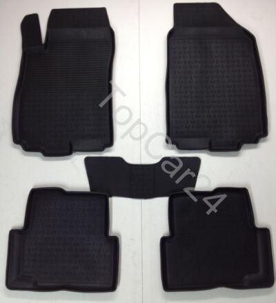 Резиновые коврики с бортиками Chevrolet Cobalt