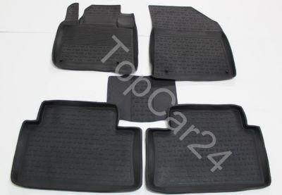 Салонные резиновые коврики Citroen C5 (Ситроен Ц5)