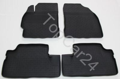 Резиновые ковры для Toyota Corolla (Тойота Королла)