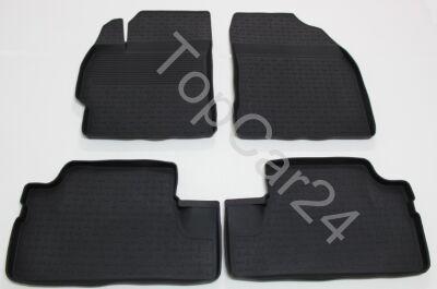 Ковры резиновые в салон Toyota Auris