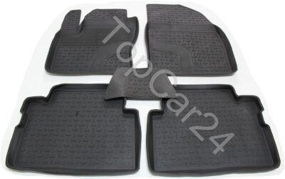 Резиновые коврики с бортиками для Ford Escape 3