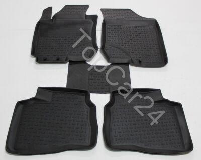 Ковры с бортиками резиновые в салон Hyundai I30