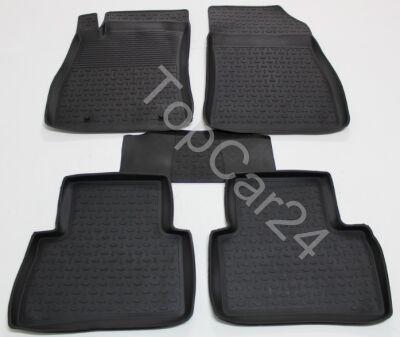 Резиновые коврики с бортами для Nissan Juke