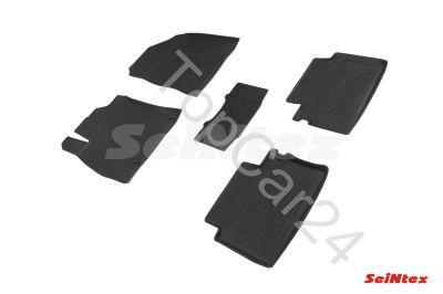 Резиновые коврики для KIA Cee'd III 2018-