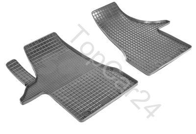 Резиновые коврики для Volkswagen Multivan/Transporter T6 (2 части перед)