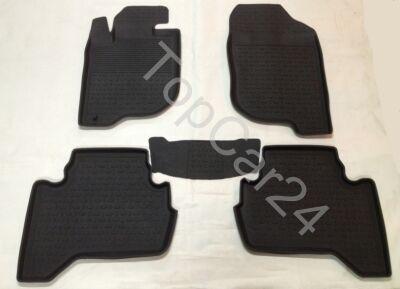 Автоковрики резиновые для Mitsubishi L200