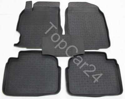 Резиновые коврики Seintex для Mazda 6