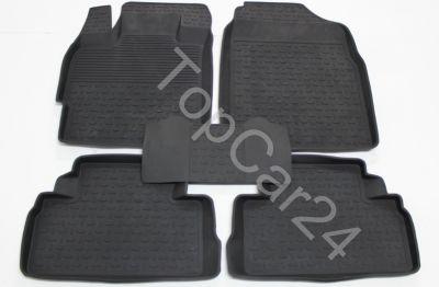 Резиновые коврики в бортами для Mazda CX7