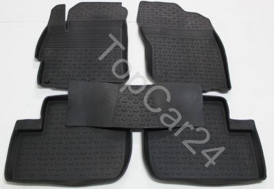 Ковры резиновые для Mitsubishi Lancer X