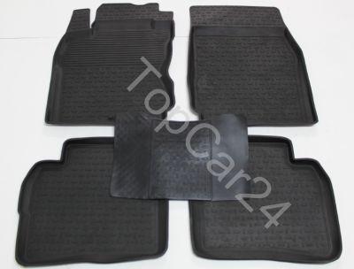 Резиновые ковры салона Nissan Note