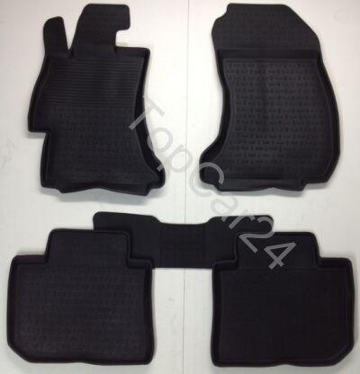 Коврики для автомобиля Subaru XV резиновые
