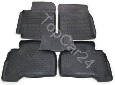 Резиновые ковры с бортиками для Suzuki Grand Vitara
