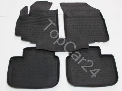 Резиновые коврики в салон Suzuki SX4