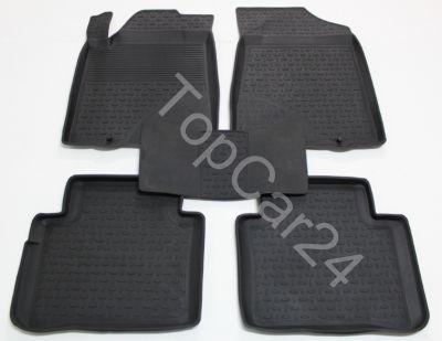 Резиновые ковры салона Nissan Teana