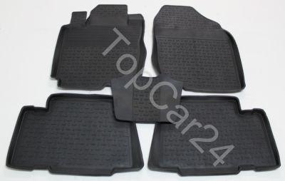 Коврики с бортиками в салон Toyota RAV4 2006-
