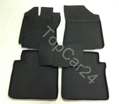 Салонные резиновые коврики Toyota Venza (Тойота Венза)